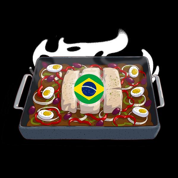Brazil Bacalhoada Ao Forno