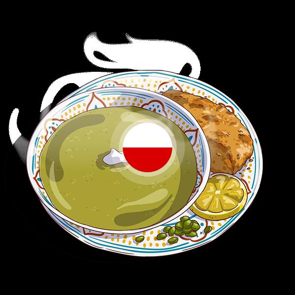 Poland Pea Soup