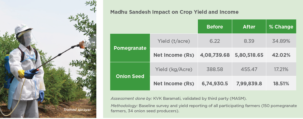 Growing Better Crops in India with Pollination Services and